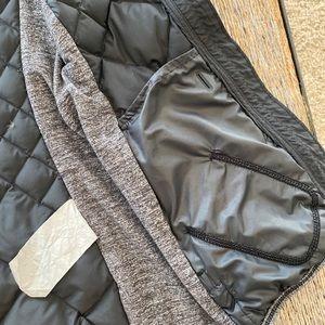 Lululemon Black/Grey goose down vest